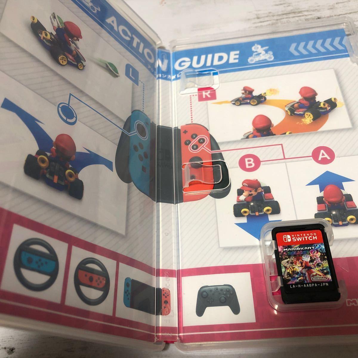 マリオカート8デラックス Joy-Conハンドル 2個セット