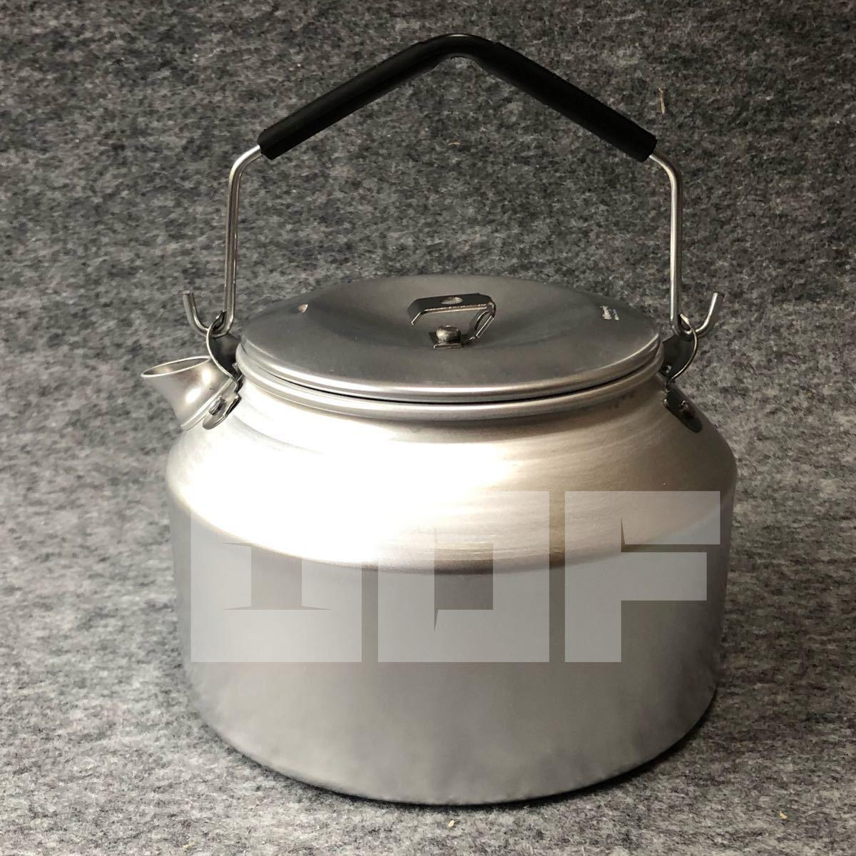 トランギア ケトル 1.4L ステンレス ノブ