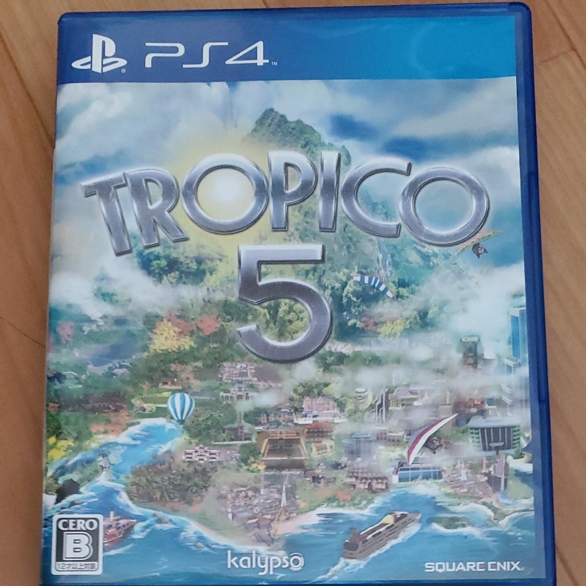 PS4 トロピコ5 PS4ソフト
