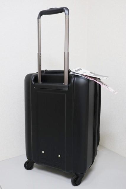 【送料無料】新品 スーツケース 機内持ち込み 小型 超軽量 フロントオープン キャリー ゼログラZER2053-46 4輪TSA マットブラック黒S A314_画像3