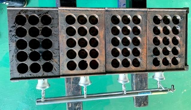 たこ焼き機60穴/プロパンガスLPガス 店舗イベント屋台祭り中古_画像1