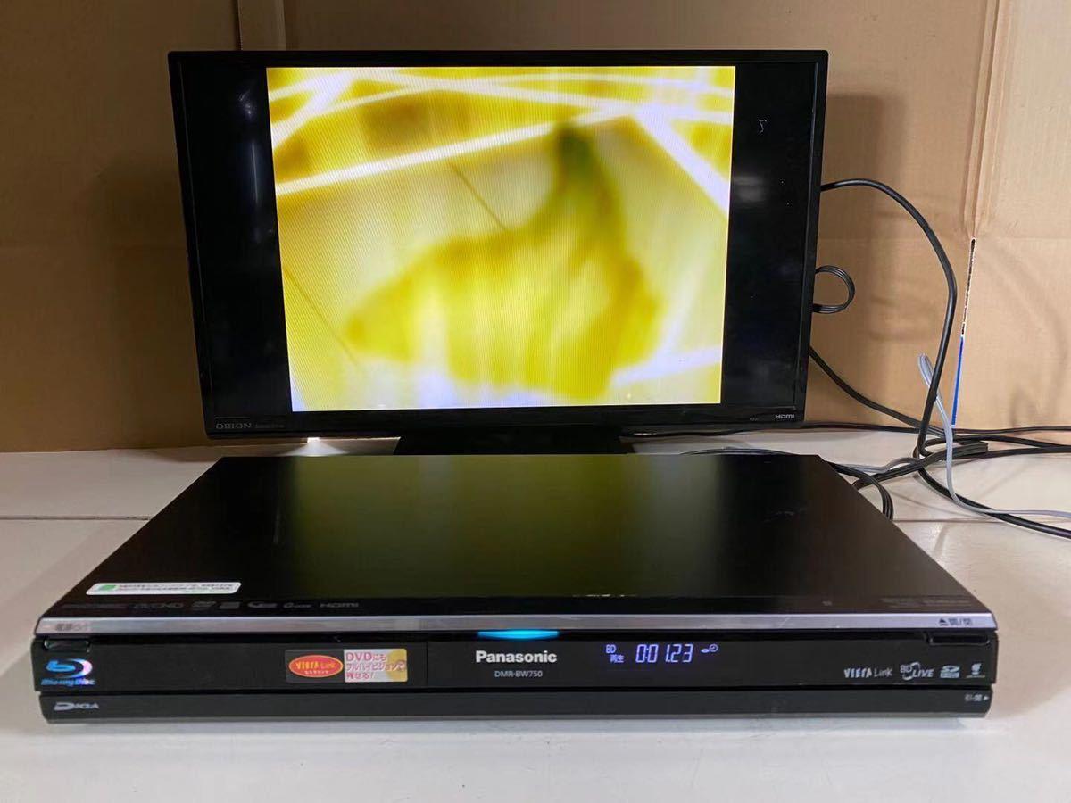 Panasonic DMR-BW750 HDD/BDレコーダー 2009年製_画像1