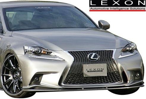 【M's】LEXUS 30IS F-SPORT 専用 (2013/05-2016/09) LEXON フロントリップスポイラー / FRP ※要適合確認 レクサス レクソン IS_画像1