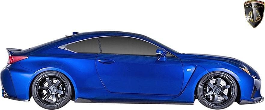 【M's】レクサス 前期 RC-F (2014.10-2019.5) AIMGAIN 純VIP SPORT ルーフスポイラー // エイムゲイン FRP エアロ パーツ ウイング_画像6