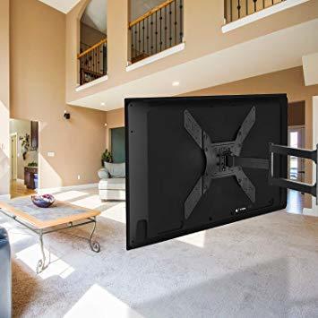 ブラック PERLESMITH テレビ壁掛け金具 アーム式 23-55インチ対応 耐荷重45kg LCD LED 液晶テレビ用 _画像7
