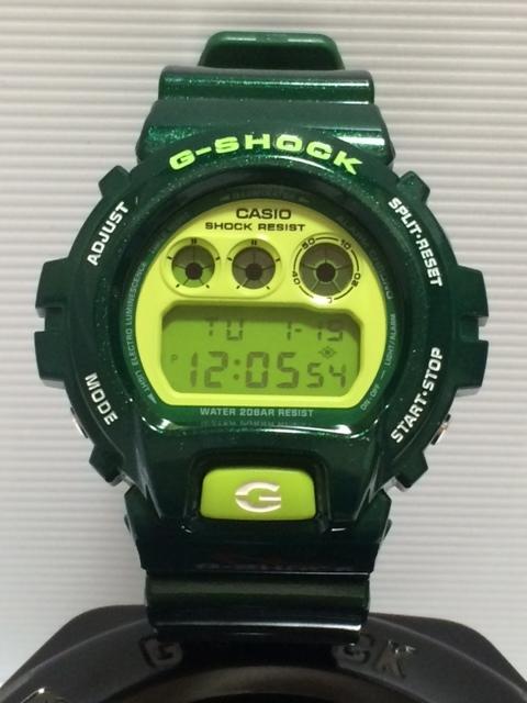 CASIO G-SHOCK DW-6900CC-3 Crazy Colors(クレイジーカラーズ) グリーン 緑