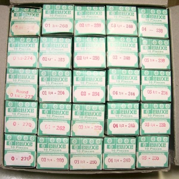 23.0~27.6mm ドーム形プラ風防 (アクリル) 新品 0.2mmきざみ24サイズから自由選択_画像4