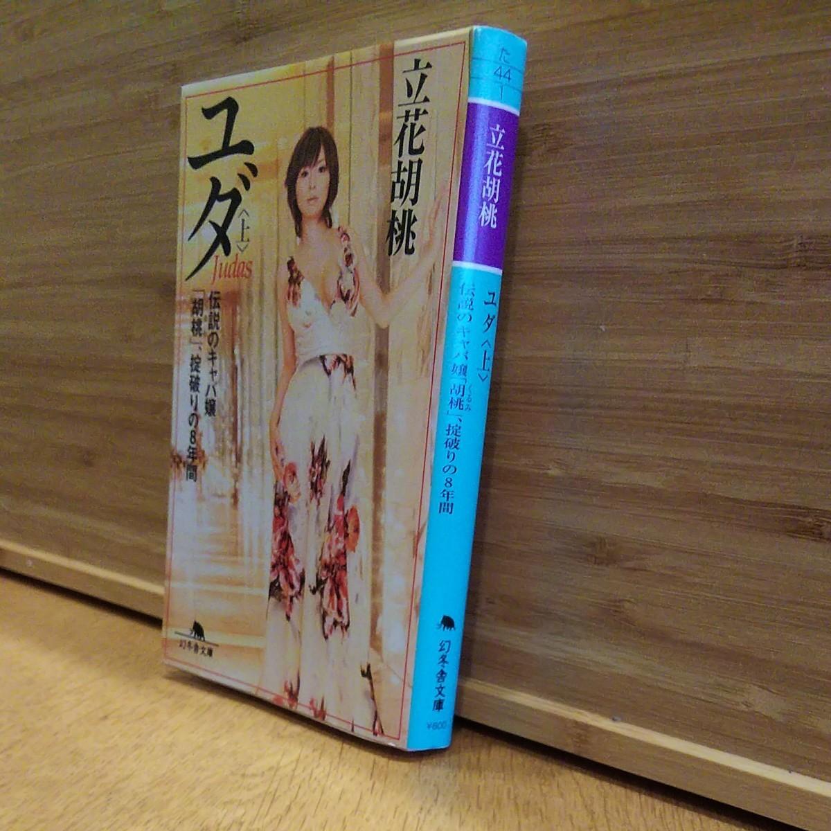 小説 文庫本 ユダ 上 立花胡桃