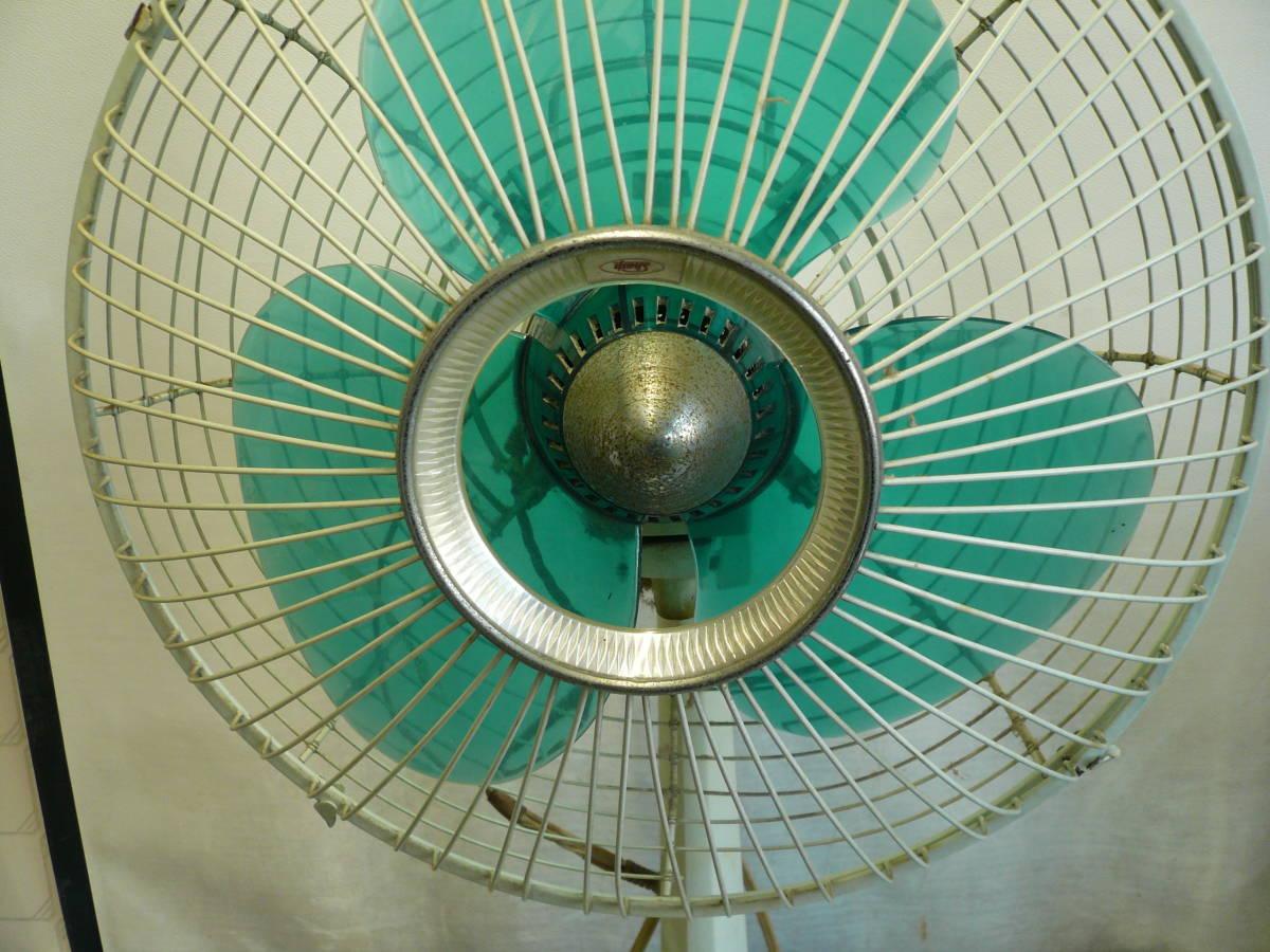 ■レトロ扇風機■シャープ SHARP ELECTRIC FAN PD-261 30cm 3枚羽 #昭和レトロ#当時物_画像2