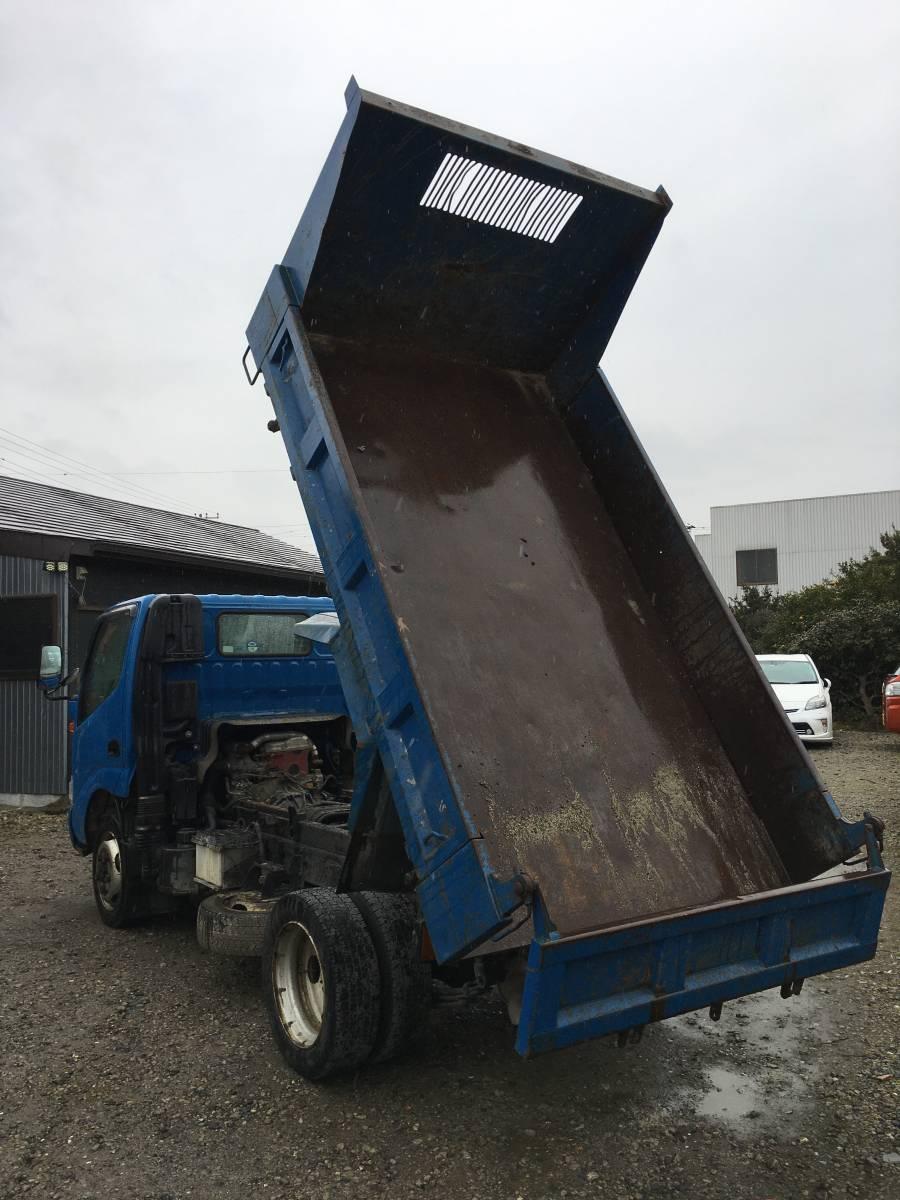 「ダイナ 4WD HI/LO 切替式 ダンプ 16万キロ タイタン エルフトヨエース デュトロ キャンター 5速 2トン 2t ダンプ 2000kg」の画像3