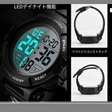 ☆即決・4-ブラック 腕時計 メンズ デジタル スポーツ 50メートル防水 おしゃれ 多機能 LED表示 アウトドア_画像4