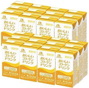森永製菓 おいしいコラーゲンドリンク 125ml×24本 レモン味 [ 美容 コラーゲン セラミド ビタミンC ビタ_画像1