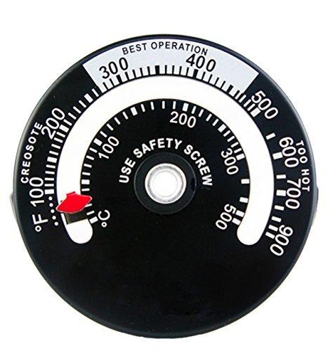 【大特価!】 【即決】Tomerry 最新版 マグネット式 ストーブ温度計 薪ストーブ ピザ窯 0度~500度まで計測_画像1