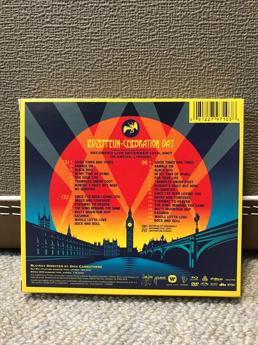 LED ZEPPELIN 祭典の日(奇跡のライブ)デラックスエディション 2CD+BD+ボーナスDVD
