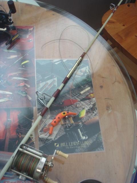 ★委託品■英国製・ソリッドグラス製・6'5ft/2pcベイト/TROUT PIN ロッド★_※繋ぎ部分になります。