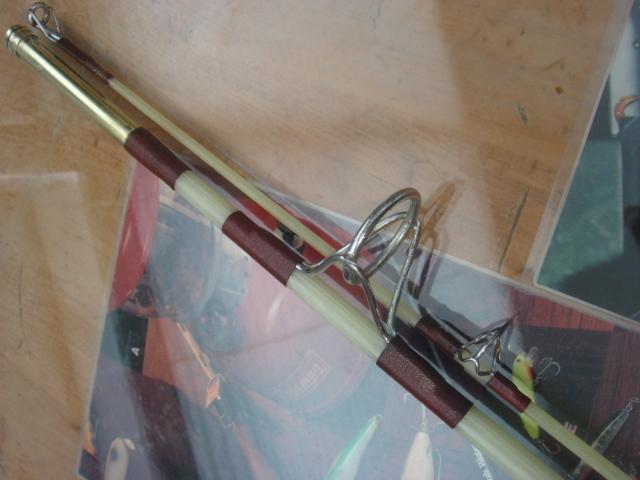 ★委託品■英国製・ソリッドグラス製・6'5ft/2pcベイト/TROUT PIN ロッド★_画像4