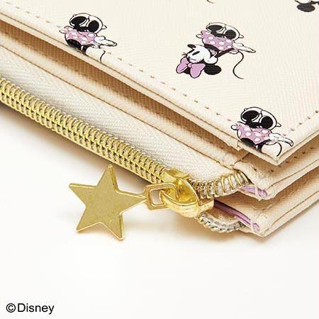 残1/sweet(スウィート)Disney(ディズニー)星ひとみ監修!ハッピーを呼込む開運ミニウォレット/2021年2月号/付録/限定/財布/ミッキー&ミニー_画像2