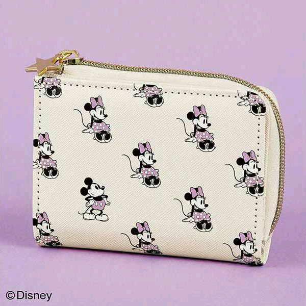 残1/sweet(スウィート)Disney(ディズニー)星ひとみ監修!ハッピーを呼込む開運ミニウォレット/2021年2月号/付録/限定/財布/ミッキー&ミニー_画像1