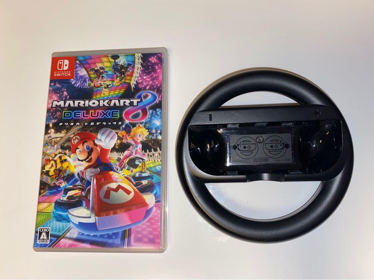【Switch】 マリオカート8 デラックス ハンドル付き