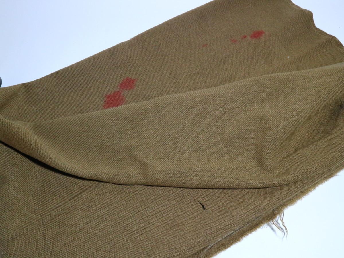 旧日本軍 毛布 日本軍 日本陸軍 軍隊毛布 時代資料 ミリタリーグッズ_画像7