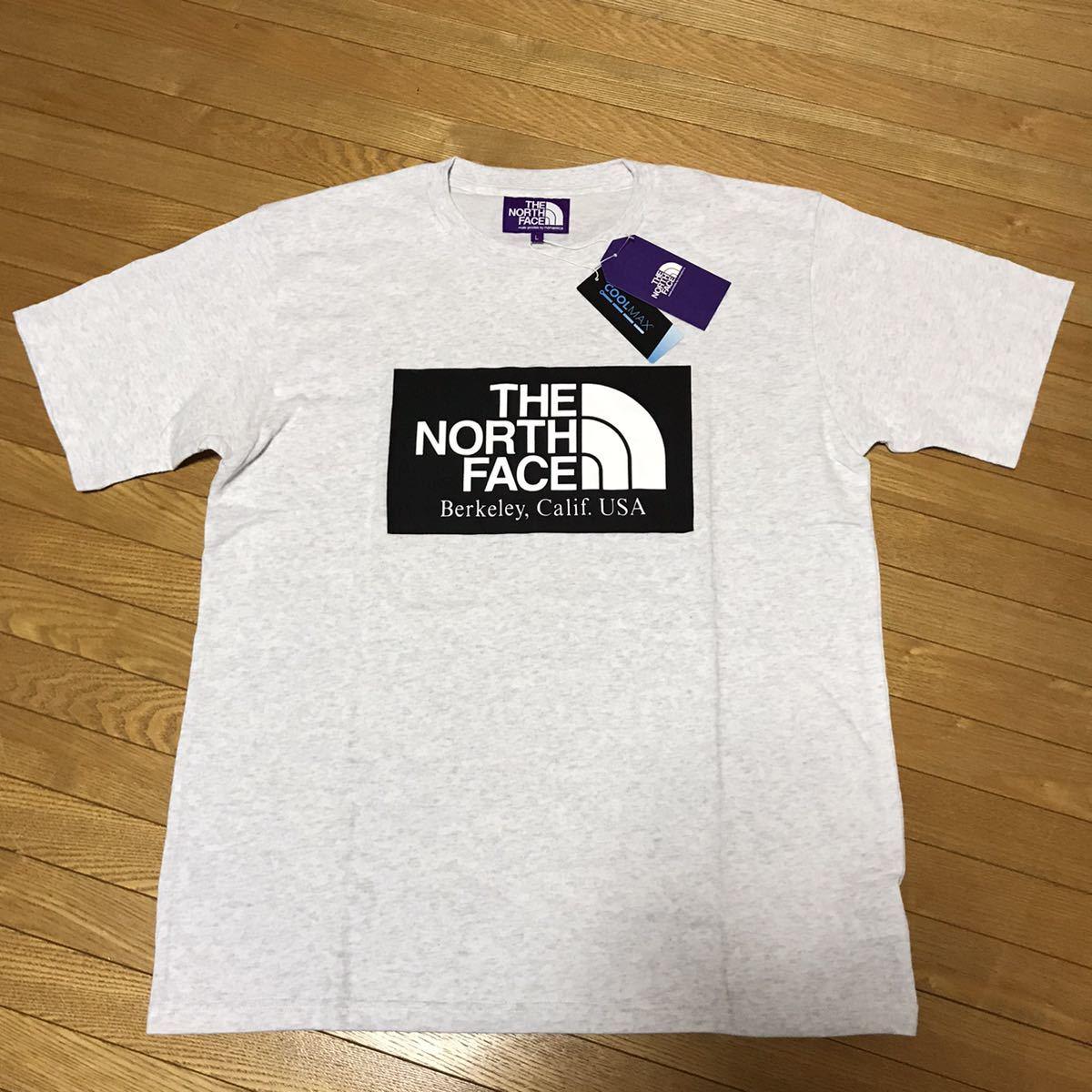 ザ・ノースフェイス パープルレーベル THE NORTH FACE PURPLE LABEL H/S Logo Tee Tシャツ Lサイズ 送料無料_画像1