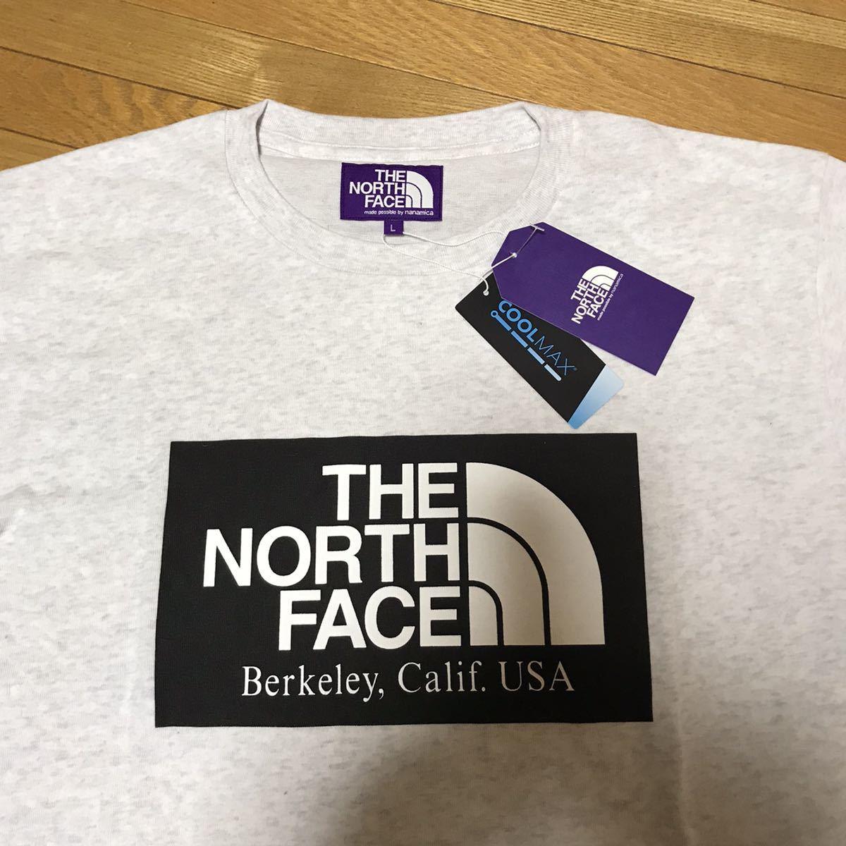 ザ・ノースフェイス パープルレーベル THE NORTH FACE PURPLE LABEL H/S Logo Tee Tシャツ Lサイズ 送料無料_画像2