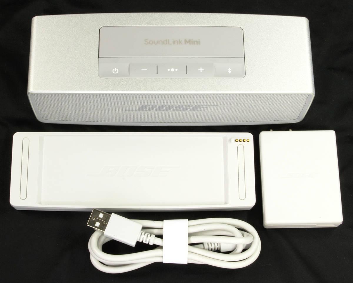 BOSE ボーズ SoundLink Mini II サウンドリンクミニ II Bluetooth スピーカー_画像4