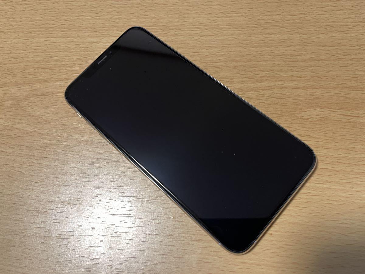 iPhone XS MAX ソフトバンク SIM解除済み 中古 ソフトバンク 256GB おまけ付き 1円スタート 備品
