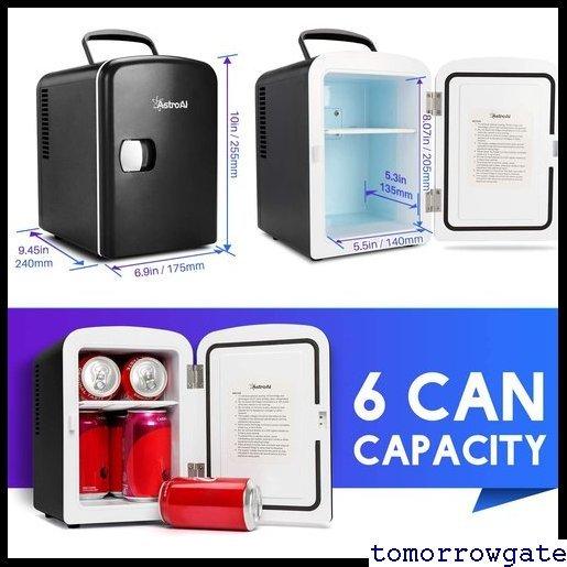 送料無料♪ AstroAI コンパクト プレゼント日本語説明書 車載両用 保温 保冷 小型冷蔵庫 ミニ冷蔵庫 小型 冷蔵庫 9_画像2