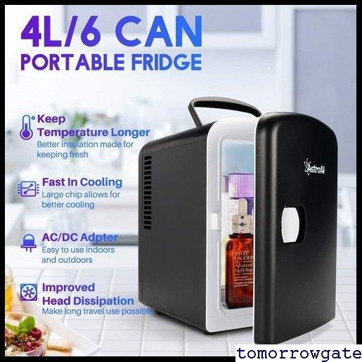 送料無料♪ AstroAI コンパクト プレゼント日本語説明書 車載両用 保温 保冷 小型冷蔵庫 ミニ冷蔵庫 小型 冷蔵庫 9_画像4