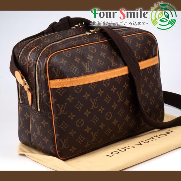 【極美品】ルイヴィトン Louis Vuitton モノグラム リポーターGM ショルダーバッグ レザー メンズ レディース 袋 定価約15万 2958
