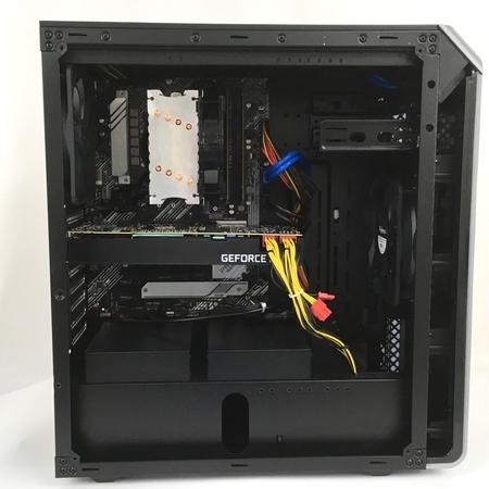 Thirdwave GALLERIA XA7C-R70S デスクトップPC Win10 i7-10700 16GB SSD 1TB HDD 4TB RTX 2070 SUPER 中古 Y5409602_画像7