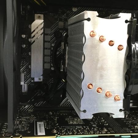 Thirdwave GALLERIA XA7C-R70S デスクトップPC Win10 i7-10700 16GB SSD 1TB HDD 4TB RTX 2070 SUPER 中古 Y5409602_画像9