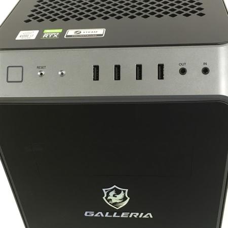Thirdwave GALLERIA XA7C-R70S デスクトップPC Win10 i7-10700 16GB SSD 1TB HDD 4TB RTX 2070 SUPER 中古 Y5409602_画像4