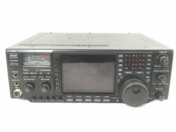 iCOM IC-756PRO2 無線機 トランシーバー 無線 受信機 アイコム ジャンク W5355833_画像3