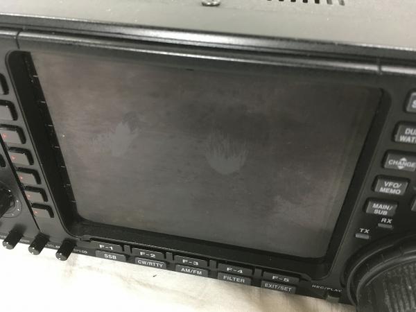 iCOM IC-756PRO2 無線機 トランシーバー 無線 受信機 アイコム ジャンク W5355833_画像10