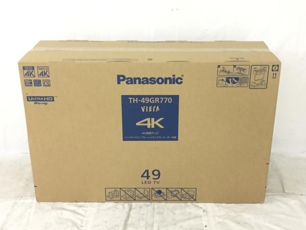 未使用 Panasonic パナソニック VIERA ビエラ TH-49GR770 液晶テレビ TV 49V型 HDD BDドライブ内臓 家電 K5408973_画像1