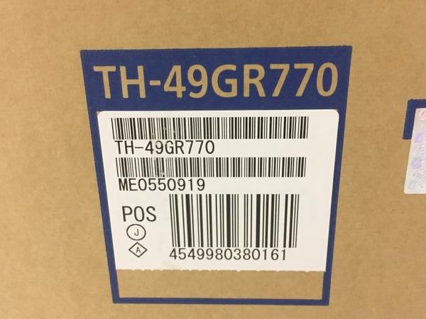 未使用 Panasonic パナソニック VIERA ビエラ TH-49GR770 液晶テレビ TV 49V型 HDD BDドライブ内臓 家電 K5408973_画像2