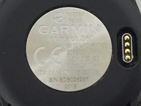 良好 GARMIN Approach S60 ゴルフ ウォッチ GPS 2018年製 ガーミン 中古 K5435248_画像9