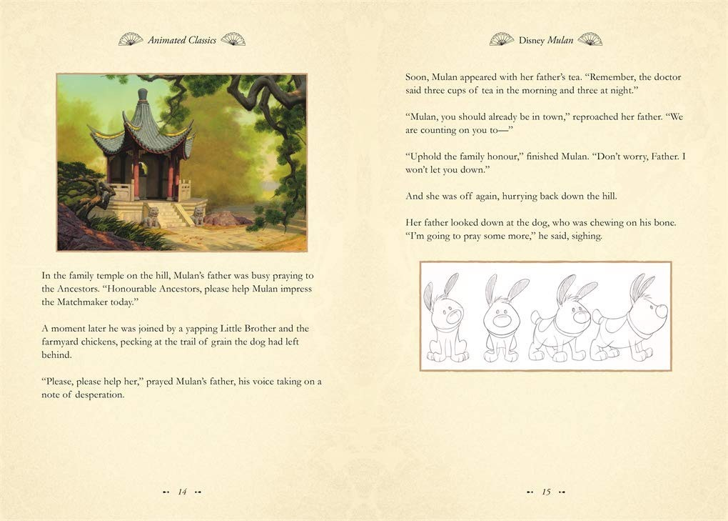 ディズニー 英語絵本 ムーラン 洋書 Disney