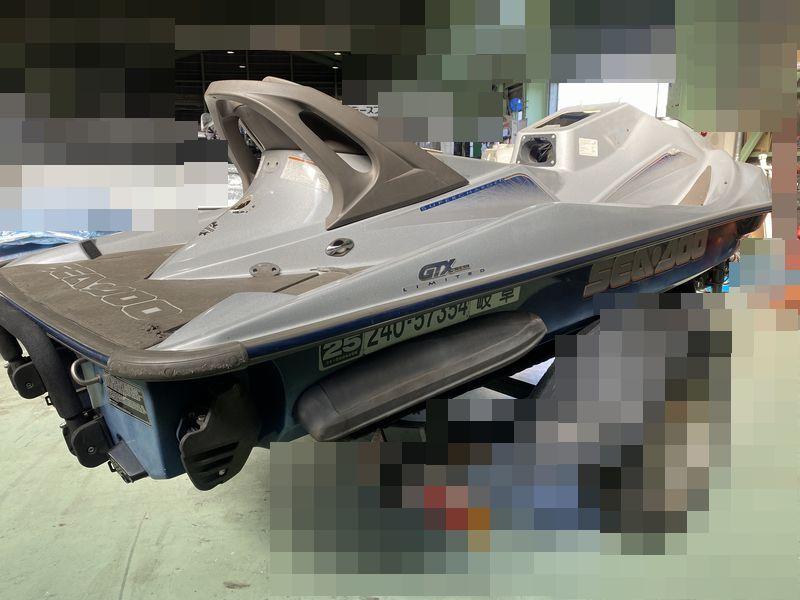 SD001 シードゥー GTX 4 TEC リミテッド ジェットスキー ボート 船体 ◆引き取り限定★即決★_画像2