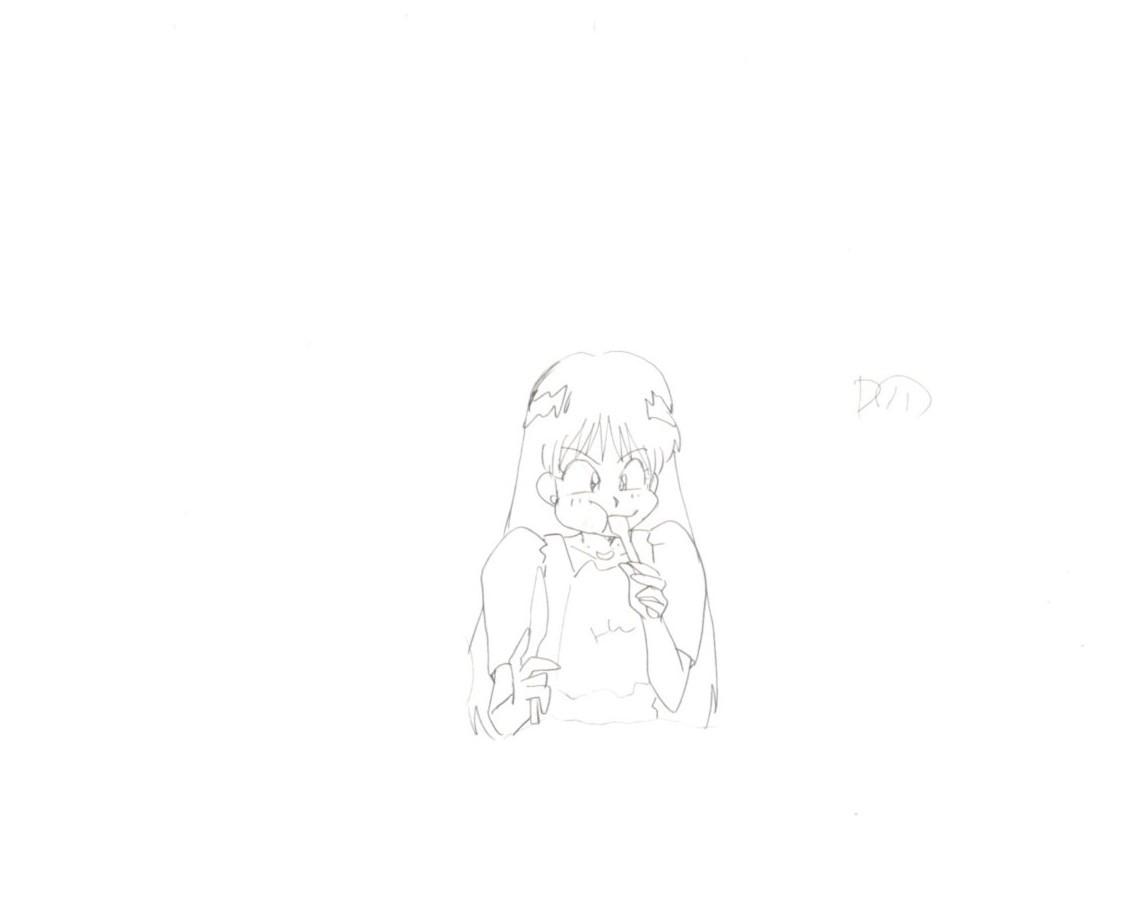 セーラームーン 原画セット 2    ♯ セル画 レイアウト イラスト 設定資料 アンティーク_画像5