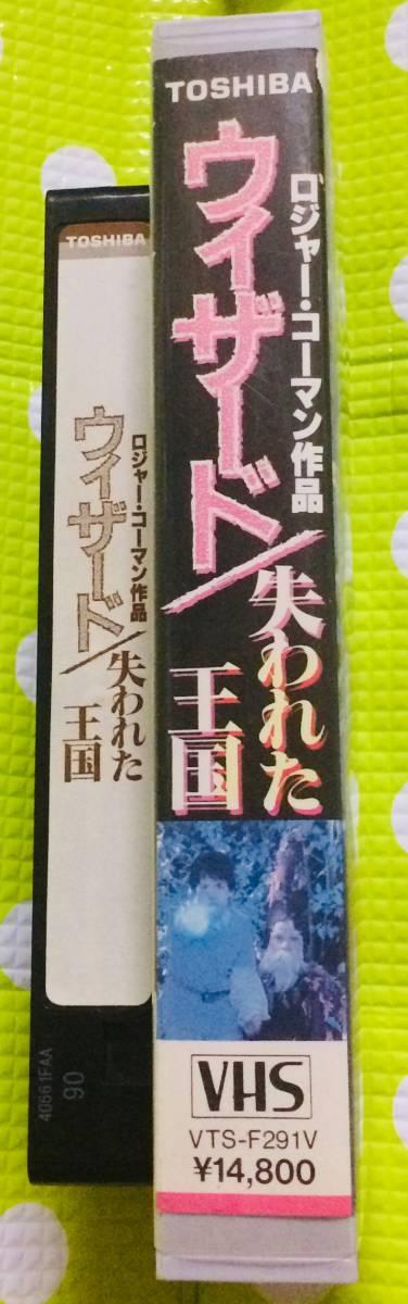 即決〈同梱歓迎〉VHS ヴィザード 失われた王国 字幕スーパー 映画◎その他ビデオ多数出品中θt6634_画像3