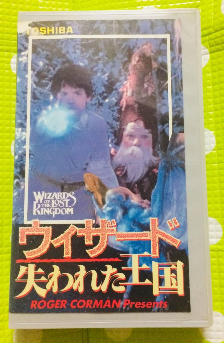 即決〈同梱歓迎〉VHS ヴィザード 失われた王国 字幕スーパー 映画◎その他ビデオ多数出品中θt6634_画像1