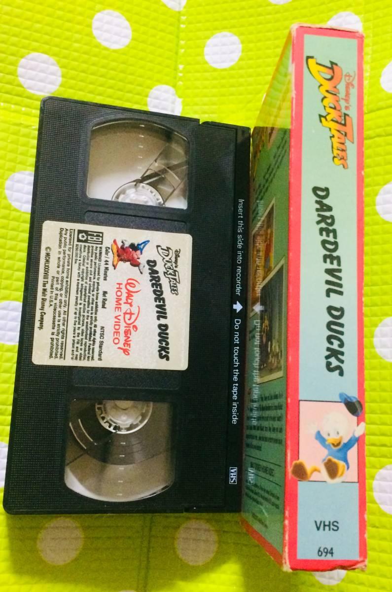 即決〈同梱歓迎〉VHS ダックテイルズ DAREDEVIL DUCKS ディズニー◎その他ビデオ多数出品中θt6667_画像3