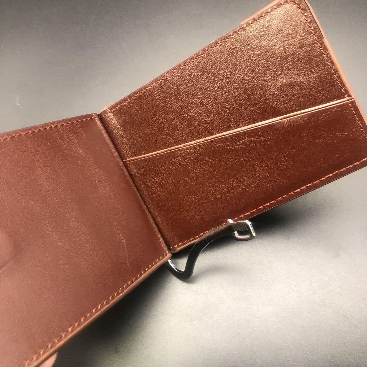 即決 baellerry 財布 マネークリップ 小銭入れ パスケース_画像4