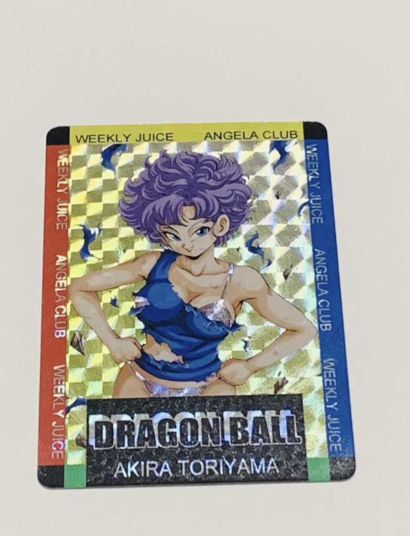 ドラゴンボールカードダス キラカード セクシーカード未使用スリーブ付き 海外製_画像2