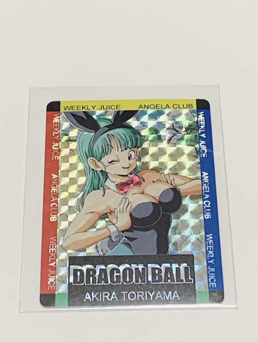 ドラゴンボールカードダス バニーガール ブルマ 未使用美品スリーブ付き 海外製品_画像3
