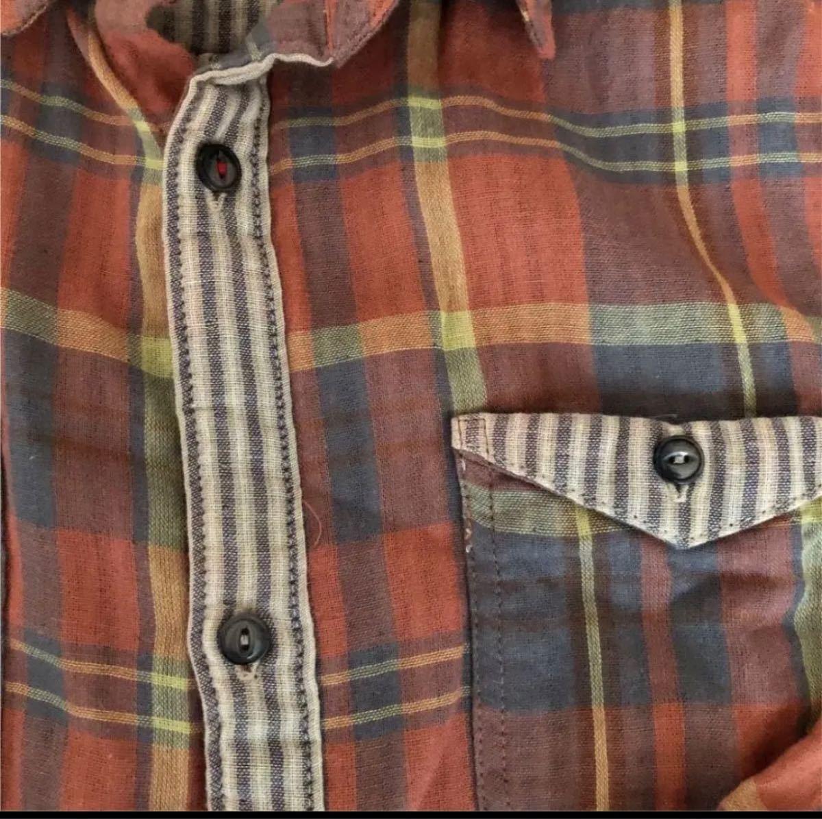 チェックシャツ、シャツワンピース