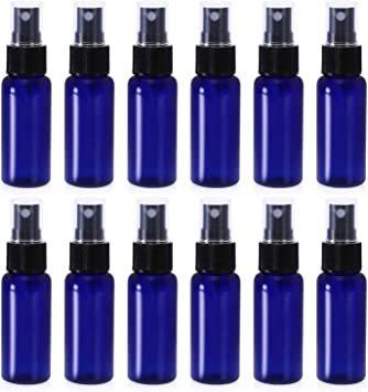 青色-50ml スプレーボトル 12本セット 詰替ボトル 遮光 空容器 霧吹き(50ml ブルー)_画像1